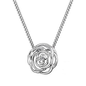 Hot Diamonds Eternal Rose sterling silver rose pendant - Product number 1776576