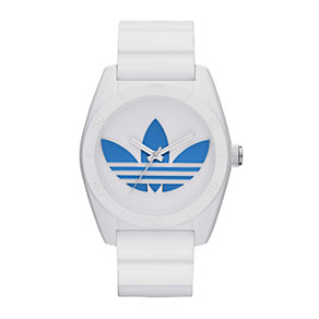 Adidas Originals Santiago Men's White Silicone Strap Watch - Product number 1776843