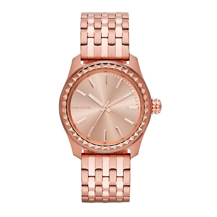 Diesel Ladies Kray Kray Rose Dial & Bracelet Watch - Product number 1777017