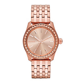 Diesel Kray Kray 38 Ladies' Rose Gold-Plated Bracelet Watch - Product number 1777017