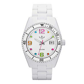Adidas Originals Brisbane White Silicone Bracelet Watch - Product number 1779575