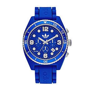 Adidas Originals Brisbane Men's Blue Silicone Strap Watch - Product number 1779664