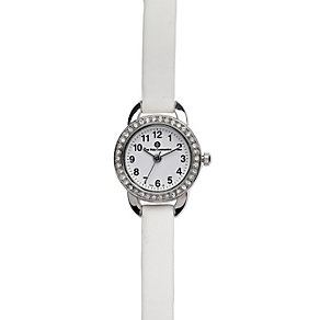 Cailin first Communion chalice white leather strap watch - Product number 1780395
