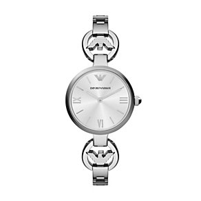 Emporio Armani ladies' stainless steel bracelet watch - Product number 1780433