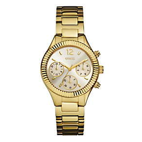 Guess Ladies' Multi Dial Gold-Plated Bracelet Watch - Product number 1780794