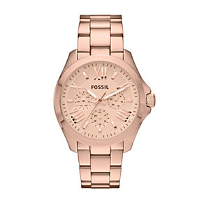 Fossil Cecile Ladies' Rose Gold-Plated Bracelet Watch - Product number 1781022
