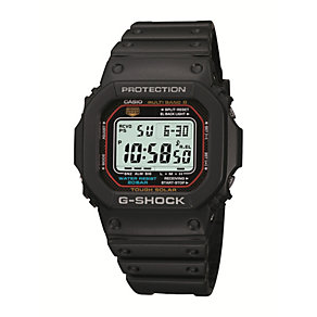 G-Shock Men's Digital Display Black Rubber Strap Watch - Product number 1781251