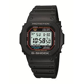 G-Shock Men's Digital Display Black Rubber Strap Watch - Product number 1781251