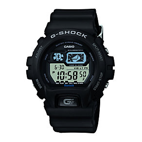 G-Shock GB-6900B Men's Bluetooth Black Resin Strap Watch - Product number 1781316