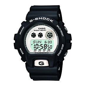 G-Shock GDX6900 Men's White Dial Black Resin Strap Watch - Product number 1781464