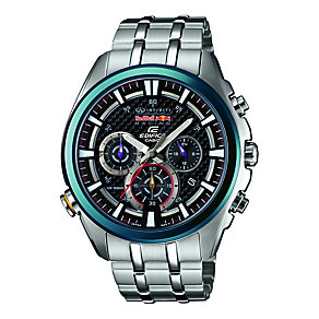 Casio Edifice Red Bull Men's Stainless Steel Bracelet Watch - Product number 1781642