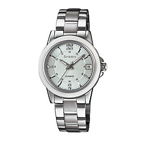 Casio Sheen Ladies' Stainless Steel Bracelet Watch - Product number 1781820