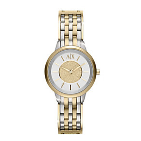 Armani Exchange Ladies' Two Tone Bracelet Watch - Product number 1782150