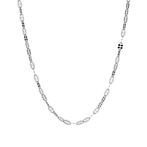 Sterling Silver Fancy Link Chain Necklace - Product number 1782843
