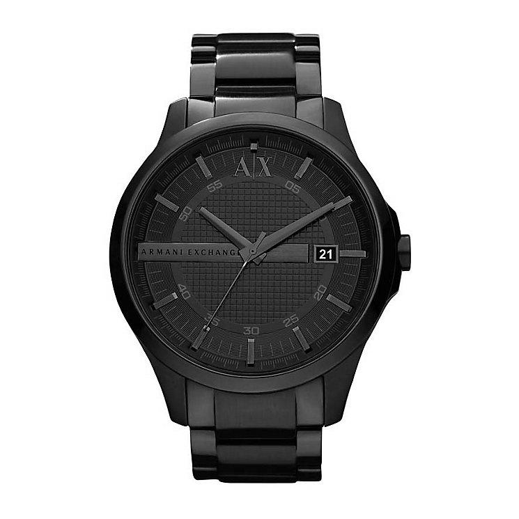 Armani Exchange Men's Smart Black Ion-Plated Bracelet Watch - Product number 1785540