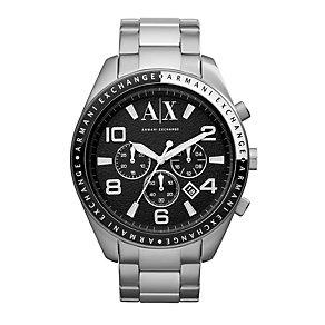 Armani Exchange Active Men's Stainless Steel Bracelet Watch - Product number 1785559