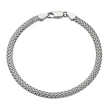 Sterling Silver Plain Tube Bracelet - Product number 1785737