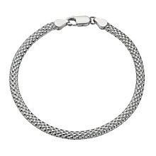 Sterling Silver Plain Tube Bracelet - Product number 1785737