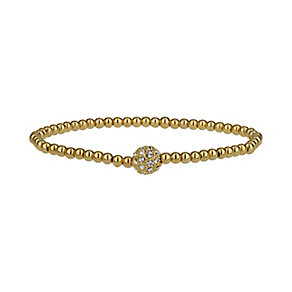 Mikey Rose Gold Tone Sparkle Beaded Bracelet - Product number 1828525