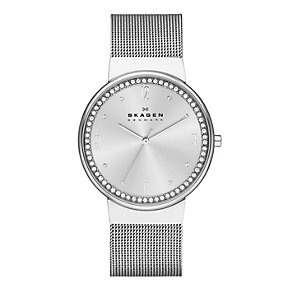 Skagen Klassik Ladies' Stainless Steel Mesh Bracelet Watch - Product number 1845063
