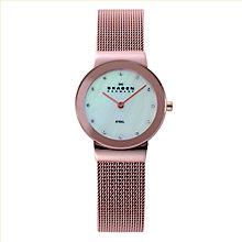 Skagen Ladies' Rose Gold-Plated Mesh Bracelet Watch - Product number 1845101