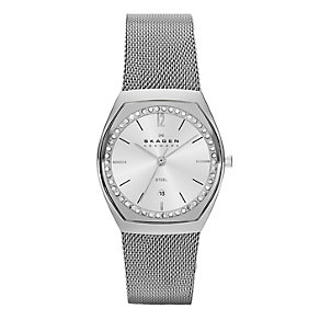 Skagen Klassik Ladies' Stainless Steel Mesh Bracelet Watch - Product number 1845128
