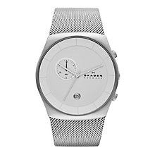 Skagen Klassik Ladies' Stainless Steel Mesh Bracelet Watch - Product number 1845187
