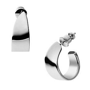 Skagen Klassik Stainless Steel Hoop Earrings - Product number 1861948