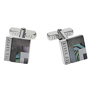 Ted Baker Burro art deco square cufflinks - Product number 1864777