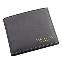 Ted Baker Antonys black bi-fold leather wallet - Product number 1865560