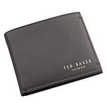 Ted Baker Antonys chocolate bi-fold leather wallet - Product number 1866028