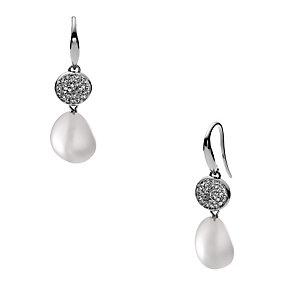 Skagen Seas Stainless Steel Glass Stones Drop Earrings - Product number 1866478