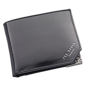 Ted Baker Dornas bifold corner emboss black leather wallet - Product number 1868934