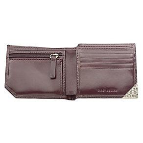 Ted Baker Dornas bifold corner emboss red leather wallet - Product number 1868942