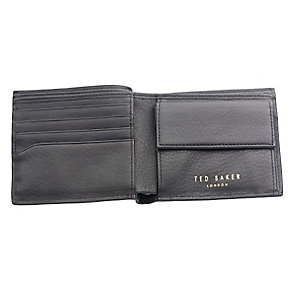 Ted Baker Mantal bifold black leather wallet - Product number 1869418
