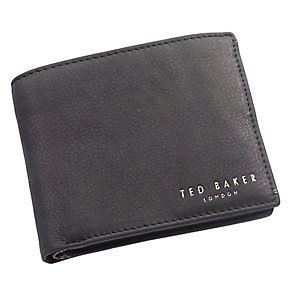 Ted Baker Branche black leather bifold wallet - Product number 1869728