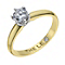 Leo Diamond 18ct yellow & white gold 0.50ct diamond ring - Product number 1930133