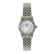 Rotary ladies' stone set stainless steel bracelet watch - Product number 1933183