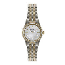 Rotary ladies' stone set two colour bracelet watch - Product number 1933248