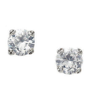 Fossil stainless steel crystal stud earrings - Product number 1937367