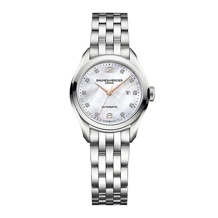 Baume & Mercier Clifton ladies' bracelet watch - Product number 1938312