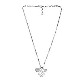 DKNY Stainless Steel Stone Set Charm Necklace - Product number 1938401