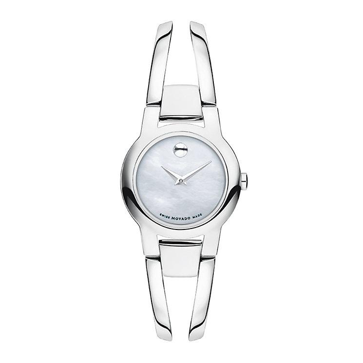 Movado Amorosa ladies' stainless steel bracelet watch - Product number 1940678
