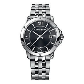 Raymond Weil men's stainless steel grey dial bracelet watch - Product number 1942603