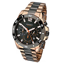 Sekonda Men's Two Tone Chronograph Watch - Product number 1945890