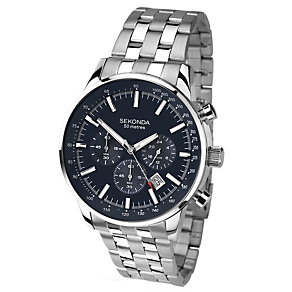 Sekonda Men's Stainless Steel Chronograph Watch - Product number 1945912