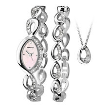 Sekonda Ladies' Matching Watch, Bracelet And Pendant Set - Product number 1946048