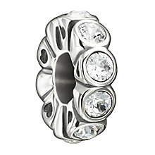 Chamilia Sterling Silver Swarovski Crystal Spacer Bead - Product number 1948016