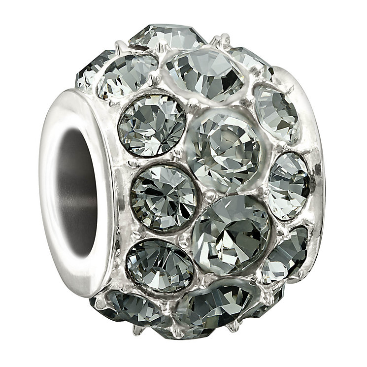 Chamilia Splendour Black Diamond Crystal Bead - Product number 1948229