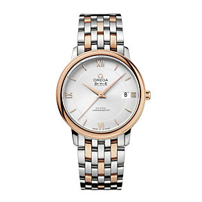 Omega De Ville Prestige men's 37mm two colour bracelet watch - Product number 1954520